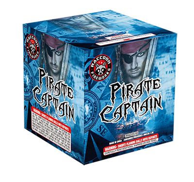 RA22518 Pirate Captain 200 Gram 21 Shots Cake