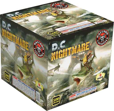 RA53628 D.C Nightmare 500 Gram 9 Shots Cake