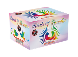 RA52504 Birds of Paradise 200 Gram 42 shots Cake