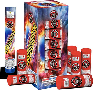RA30601 60Gram XL Canister Shell 12/6 Kit Supernova