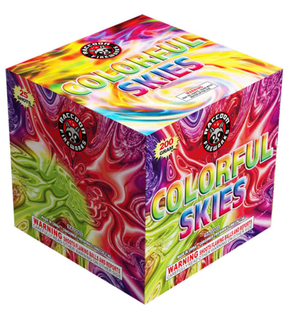RA22003 Colorful Skies 200 Gram 25 Shots Cake