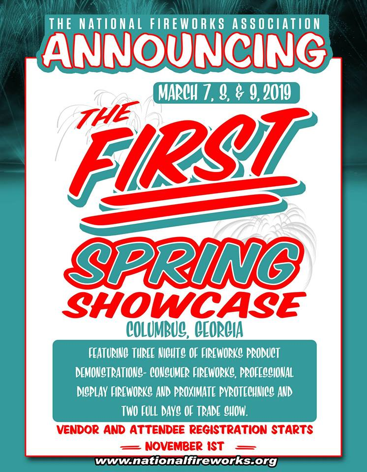 2019 SPRING SHOWCASE - Columbus, Georgia March 7-9, 2019